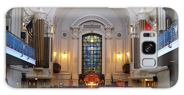 Chapel Interior - Us Naval Academy Galaxy Case