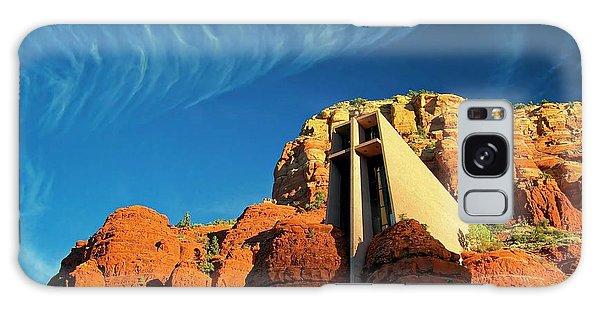 Chapel Of The Holy Cross, Sedona, Arizona Galaxy Case