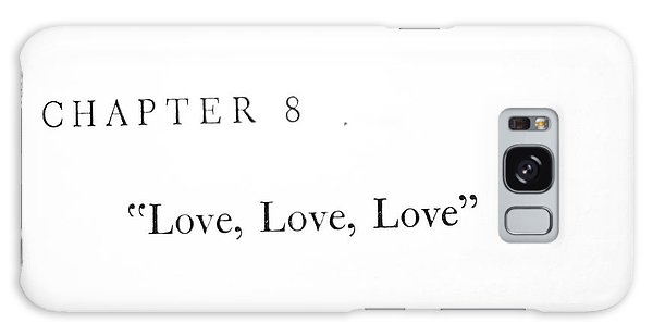 Chapter 8 Love Love Love Squared Galaxy Case by Toni Hopper