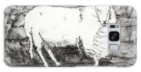 Charcoal Sheep Galaxy Case