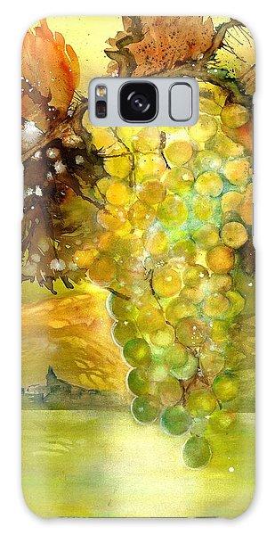 Chardonnay Grapes In Sunlight Galaxy Case