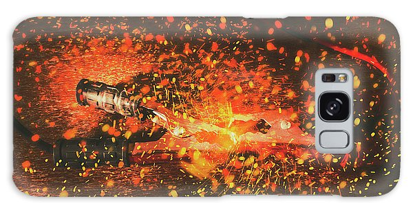 Jump Galaxy Case - Charged Up Workshop Art by Jorgo Photography - Wall Art Gallery