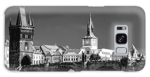 Charles Bridge Prague Czech Republic Galaxy Case