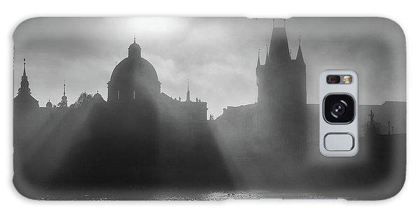 Charles Bridge Towers, Prague, Czech Republic Galaxy Case
