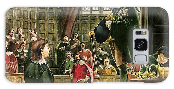Houses Of Parliament Galaxy Case - Charles I In The House Of Commons by English School