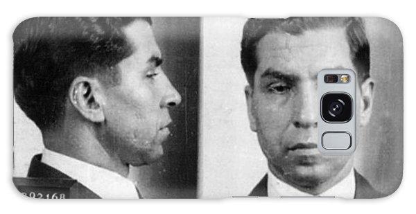 Charles Lucky Luciano Mug Shot 1931 Horizontal Galaxy Case