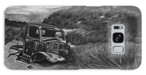 Old Truck Galaxy Case - Charles Manson Power Wagon by Jennifer Gerke
