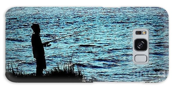 Galaxy Case - Charleston Morning Fishing by Lisa Marie Towne