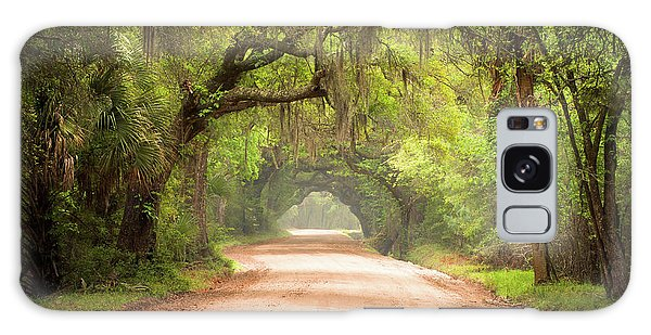 Environments Galaxy Case - Charleston Sc Edisto Island Dirt Road - The Deep South by Dave Allen