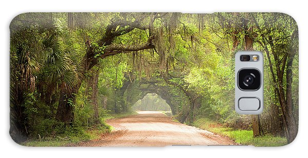 Charleston Sc Edisto Island Dirt Road - The Deep South Galaxy Case