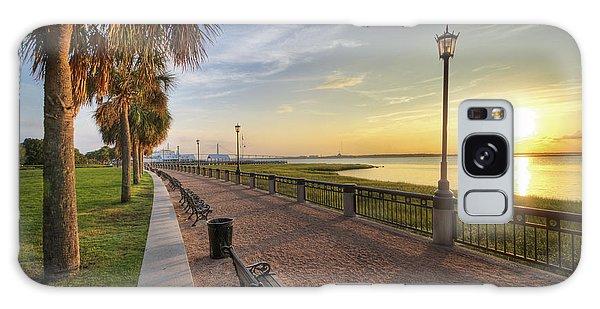 Charleston Sc Waterfront Park Sunrise  Galaxy Case
