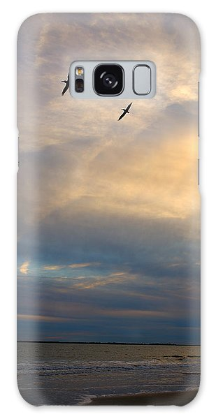 Charleston Seascape Galaxy Case by Steven Richman