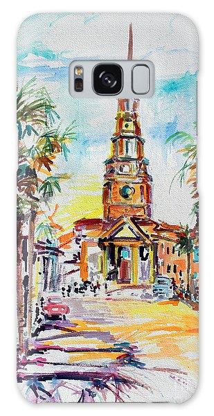 Charleston South Carolina Episcopal Church Galaxy Case
