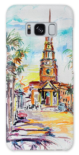 Charleston South Carolina Episcopal Church Galaxy Case