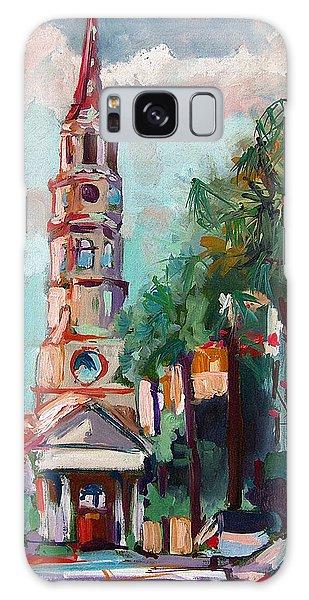 Charleston St Phillips Church Galaxy Case by Ginette Callaway