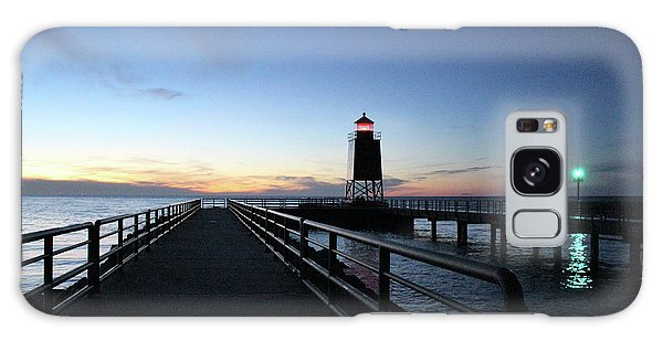 Charlevoix Light Tower Galaxy Case