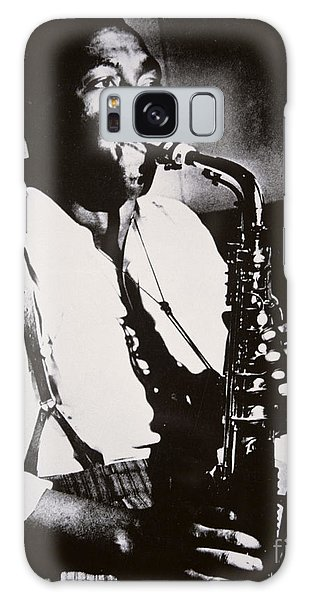 Saxophone Galaxy S8 Case - Charlie Parker by American School
