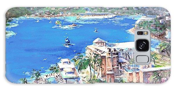 Charlotte Amalie Marriott Frenchmans Beach Resort St. Thomas Us Virgin Island Aerial Galaxy Case