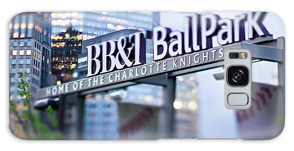 Charlotte Nc Usa  Bbt Baseball Park Sign  Galaxy Case