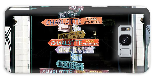Charlotte Signs Galaxy Case