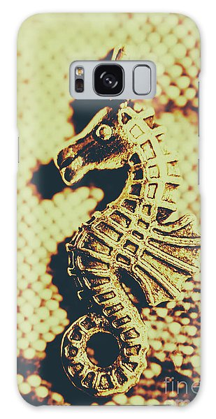 Pendant Galaxy Case - Charming Vintage Seahorse by Jorgo Photography - Wall Art Gallery