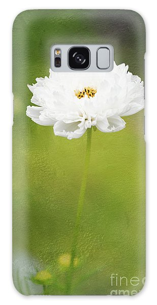 Charming White Cosmos Galaxy Case