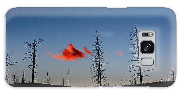 Charred Sunset Galaxy Case