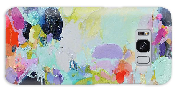 Galaxy Case - Chartreuse Stop by Claire Desjardins
