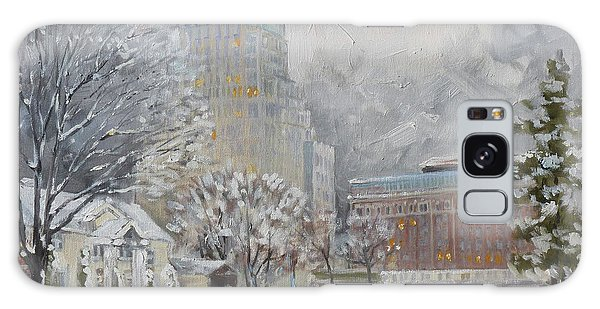 Galaxy Case - Chase Park Plaza In Winter, St.louis by Irek Szelag