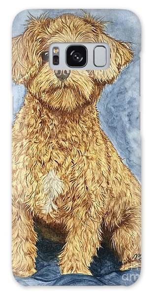Galaxy Case - Chase The Maltipoo by Megan Cohen