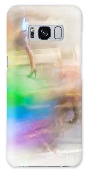 Colours Galaxy Case - Chasing The Rainbow by Az Jackson