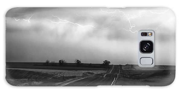 Chasing The Storm - County Rd 95 And Highway 52 - Colorado Galaxy Case