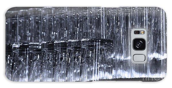 Chasing Waterfalls - Blue Galaxy Case