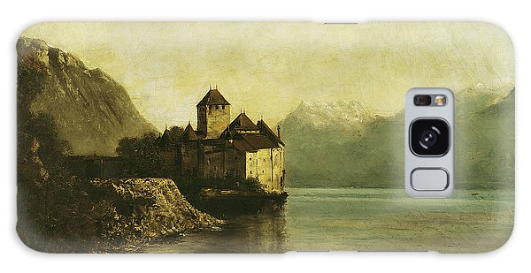 Peaceful Galaxy Case - Chateau De Chillon by Gustave Courbet