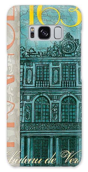 Clock Galaxy Case - Chateau De Versailles by Debbie DeWitt