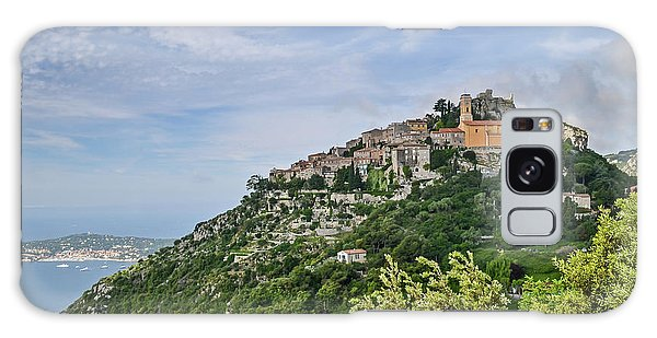 Chateau D'eze On The Road To Monaco Galaxy Case by Allen Sheffield