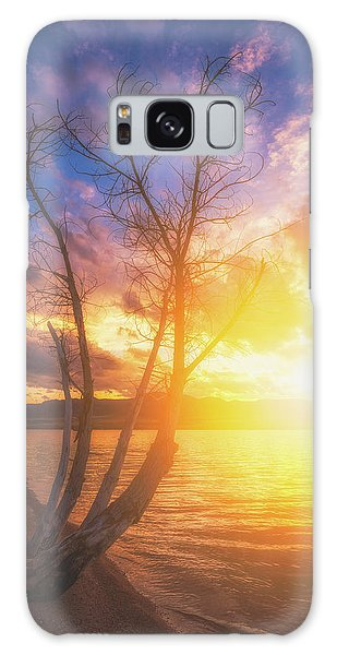Galaxy Case featuring the photograph Chatfield Lake Sunset by Darren White