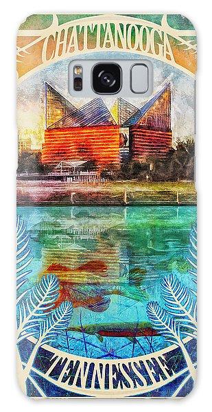 Chattanooga Aquarium Poster Galaxy Case