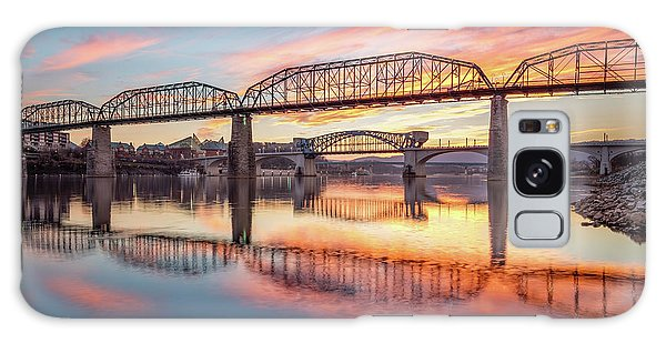 Chattanooga Sunset 5 Galaxy Case