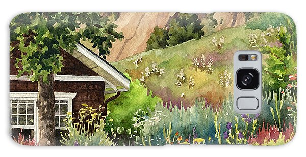 Chautauqua Cottage Galaxy Case by Anne Gifford