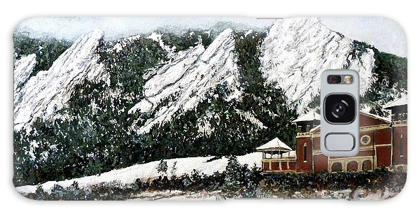 Chautauqua - Winter, Late Afternoon Galaxy Case by Tom Roderick