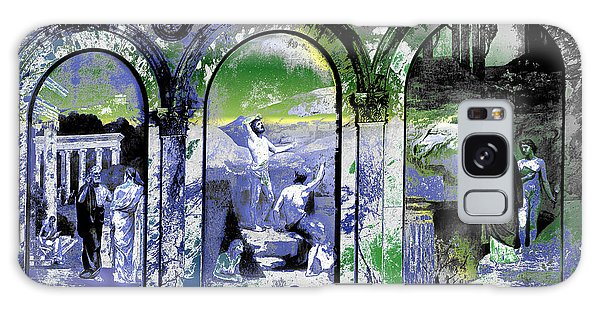 Galaxy Case featuring the photograph Chavannes Astronomy Philosophy by Robert G Kernodle