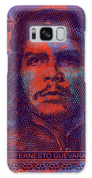 Che Guevara 3 Peso Cuban Bank Note - #3 Galaxy Case