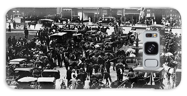 Cheapside Public Square In Lexington - Kentucky - April 7  1920 Galaxy Case