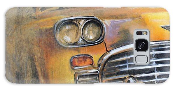 Checker Taxi Galaxy Case by Vali Irina Ciobanu