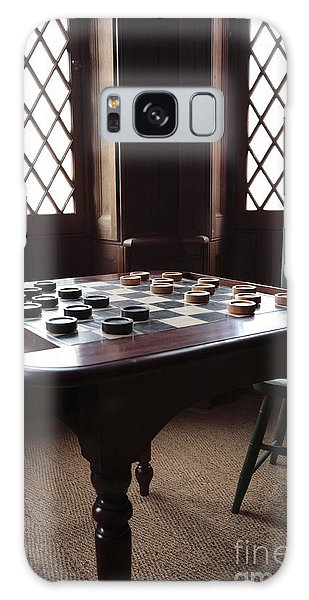 Checkers Table At The Lincoln Cottage In Washington Dc Galaxy Case