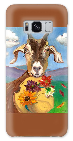 Cheeky Goat Galaxy Case by Susan Thomas