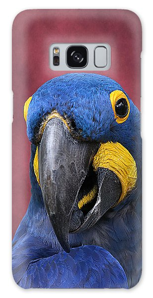Cheeky Macaw Galaxy Case