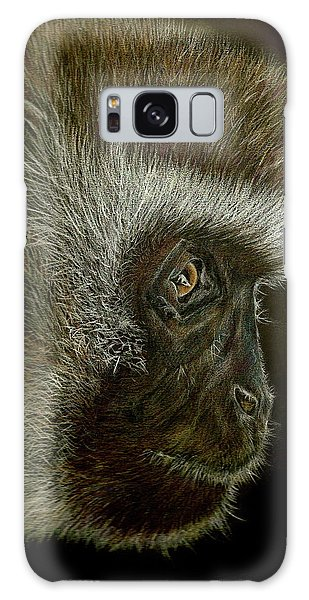 Cheeky Monkey Galaxy Case by Heidi Kriel