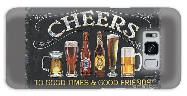 Beer Galaxy S8 Case - Cheers  by Debbie DeWitt